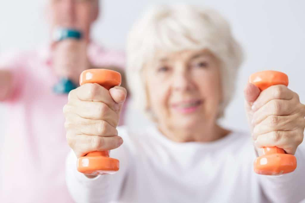 Seniori harjoittelee