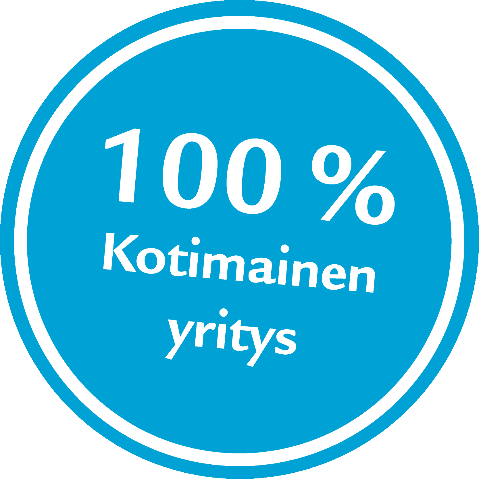 100% kotimainen