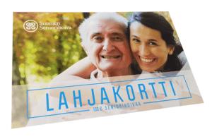 Suomen Seniorihoiva - Lahjakortti - 100 € Seniorihoivaa