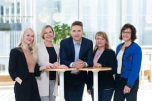 Suomen Seniorihoivan asiakaspalvelutiimi