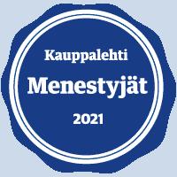 Suomen Seniorihoiva Menestyjät 2021