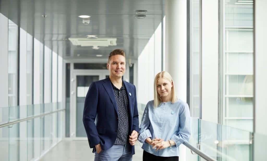Suomen Seniorihoiva Turku - Mika Suominen ja Anni Jarvinen